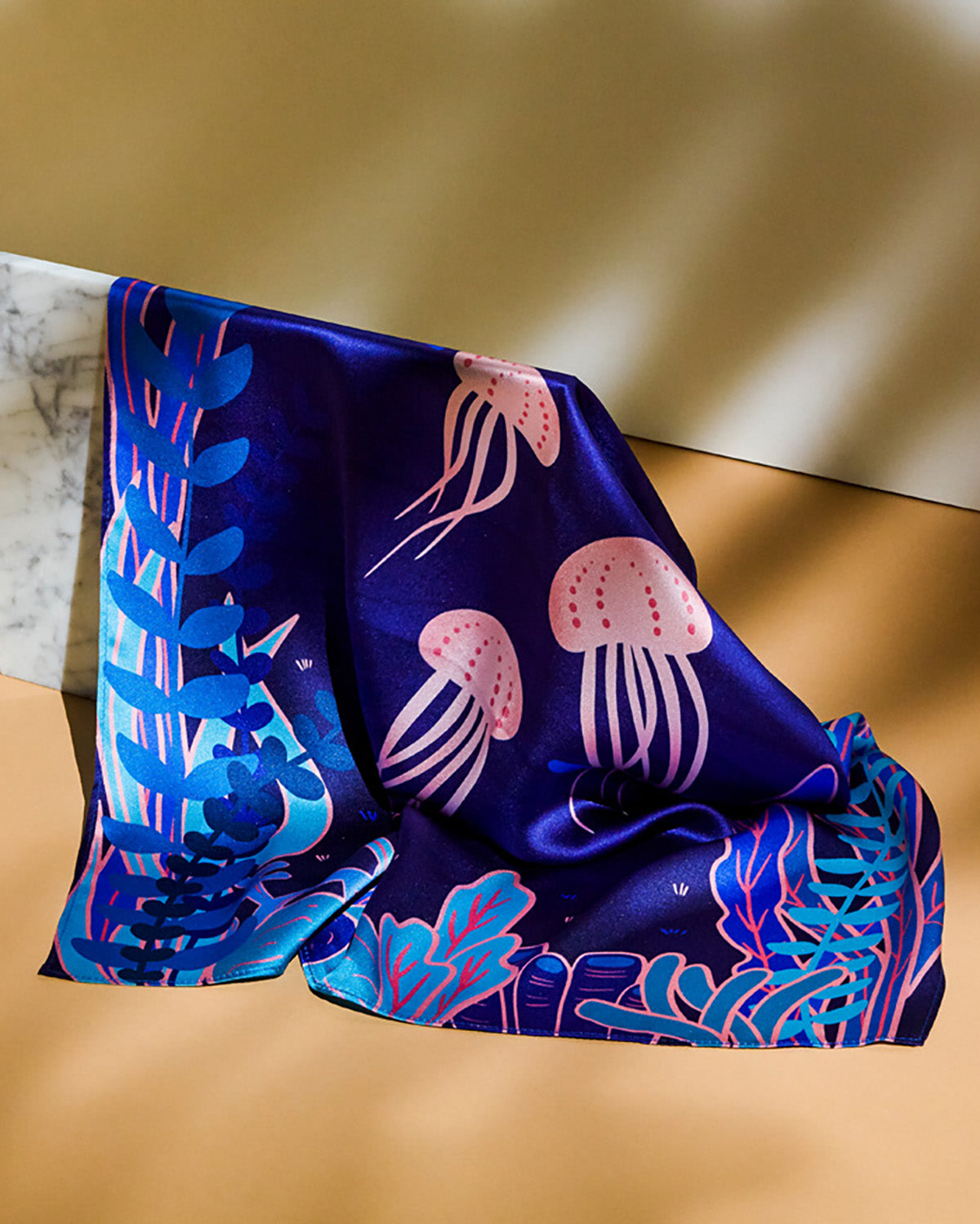 Heart of the Ocean Silk Scarf Series