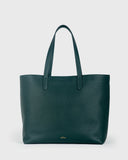 Aimee Leather Tote (Green)