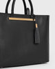 Aimee Leather Tassel (Black)