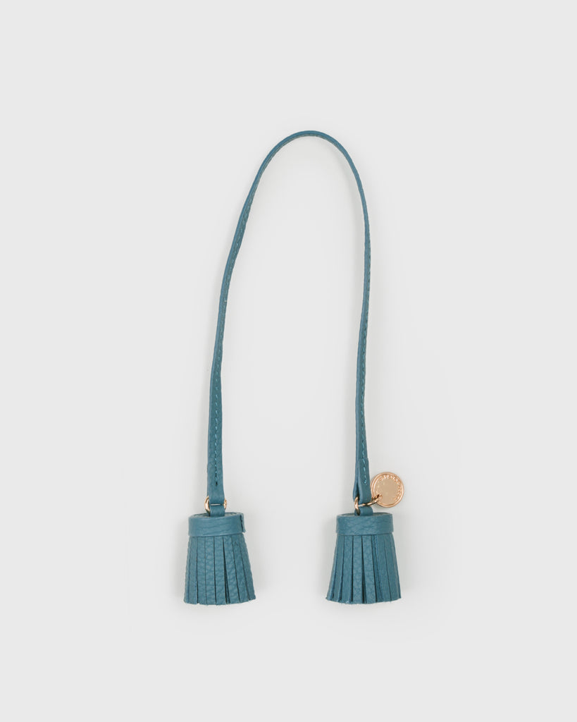Aimee Leather Twin Tassel