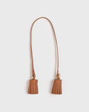 Aimee Leather Twin Tassel (Camel)