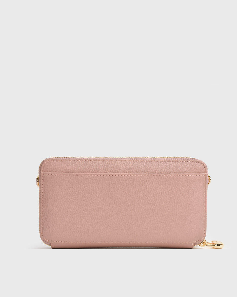 Aimee Dual Zip Around Long Wallet