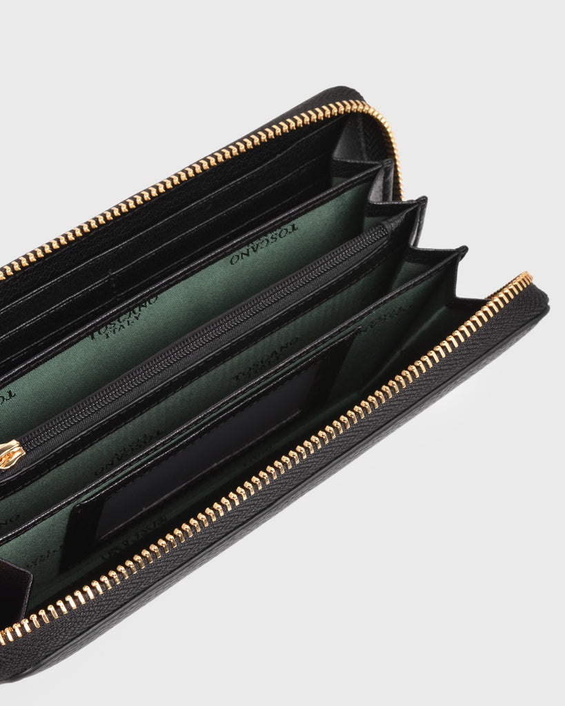 Aimee Long Wallet (Black)