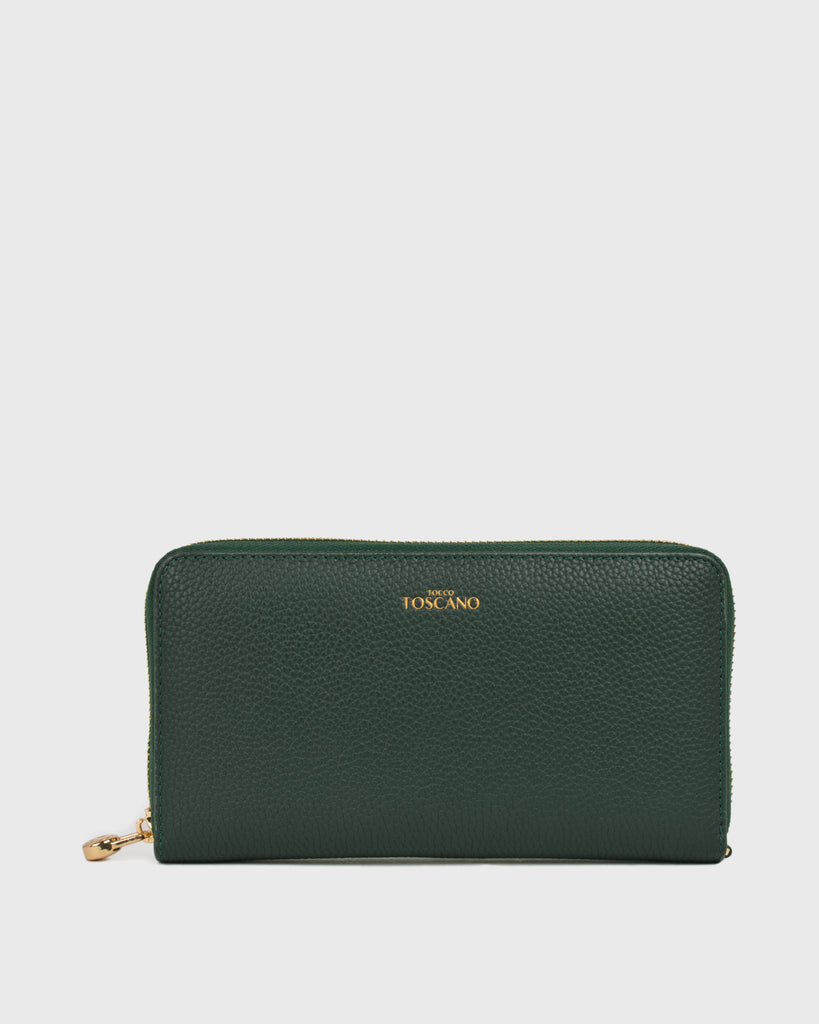 Aimee Long Wallet (Green)