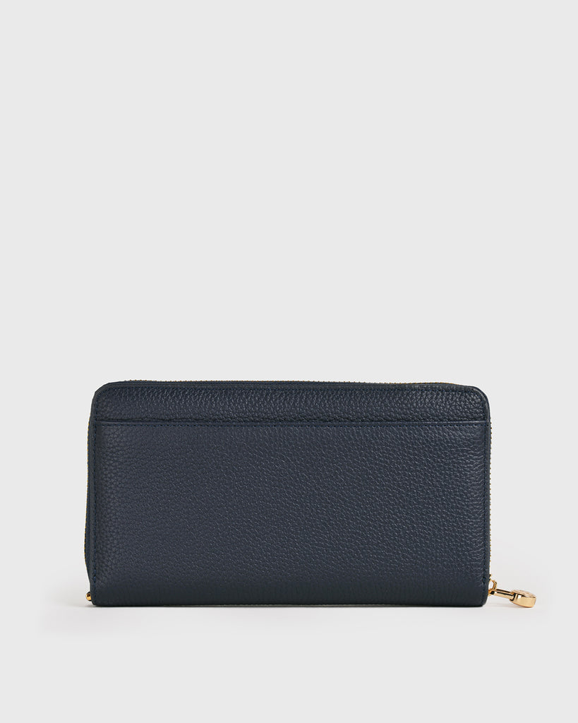 Aimee Long Wallet (Navy)