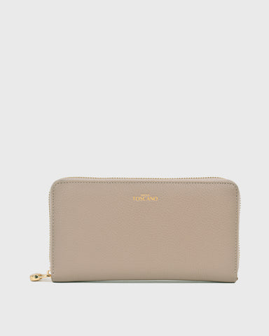 Holly II Half Flap Clutch (Black)