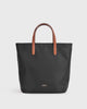 Aimee Mini Nylon Tote (Black)