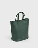 Aimee Mini Leather Tote (Green) | Pre-order