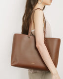 Aimee Dual Shoulder Straps (Chocolate)