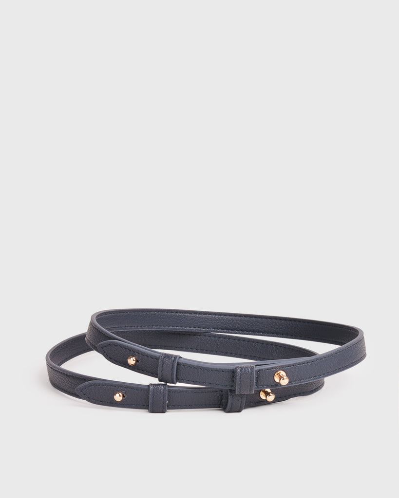 Aimee Dual Shoulder Straps (Navy)