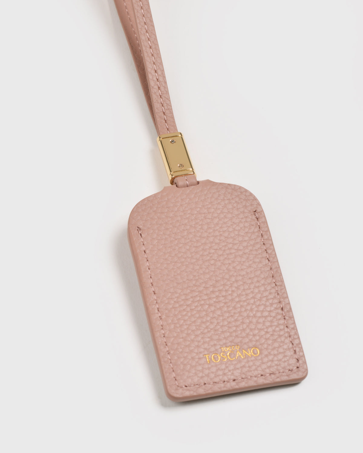 Aimee Luggage Tag (Dusty pink)