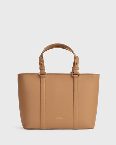 Aimee Mini Travel BiB (Beige)