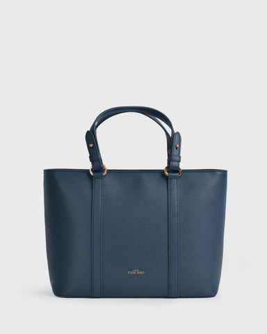 Aimee Mini Tote (Chocolate) | Vegan