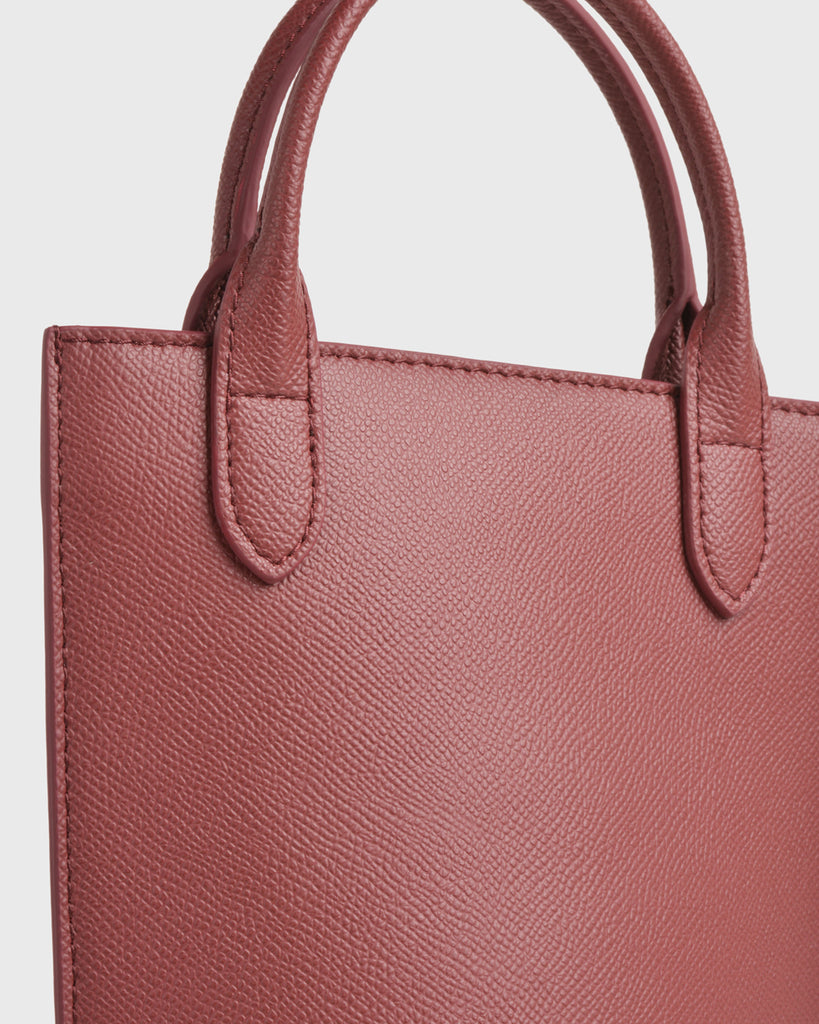 Bottle Bag (Burgundy)