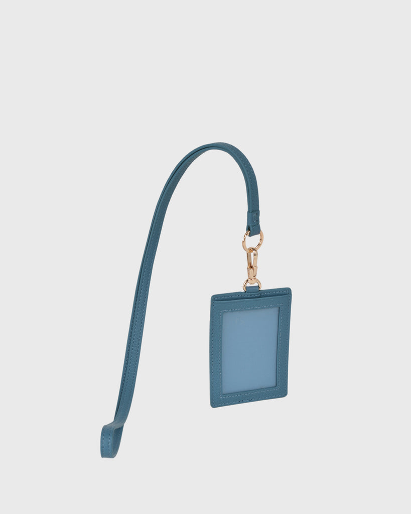 Aimee Cardholder with Lanyard (Blue)