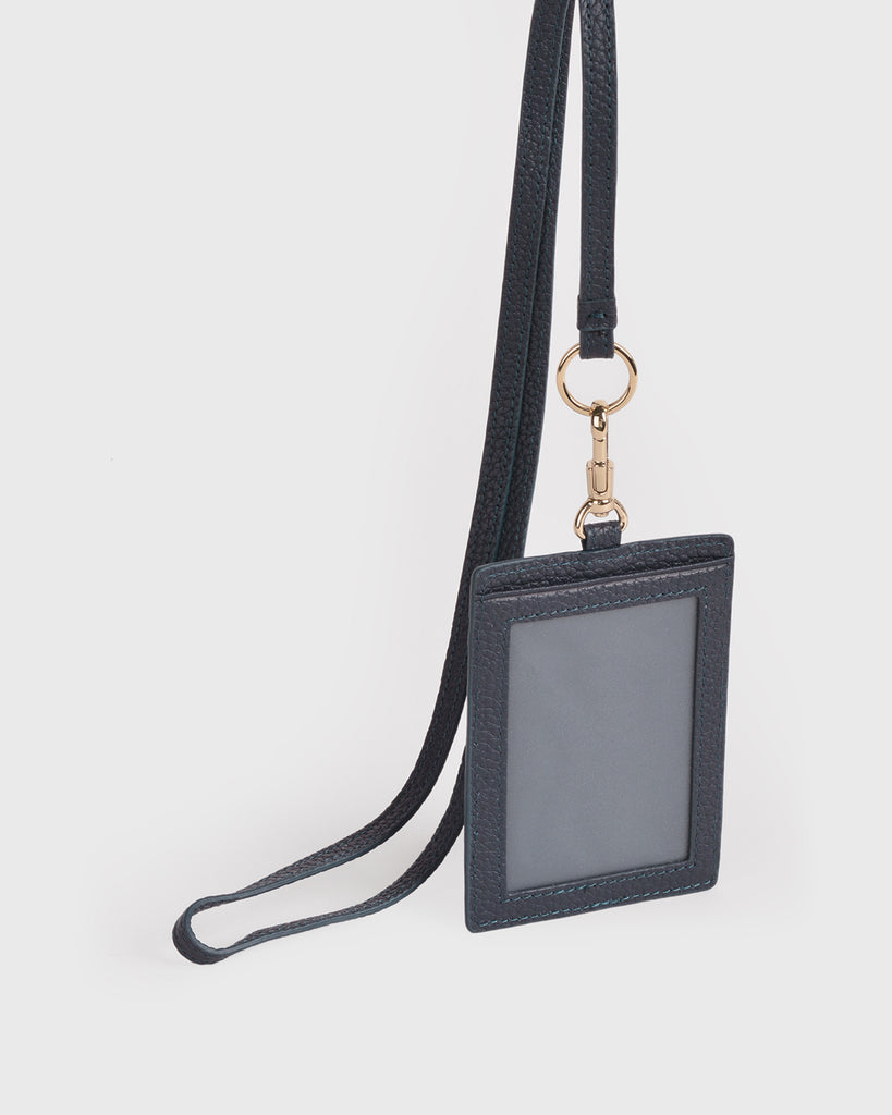 Aimee Cardholder with Lanyard (Navy)