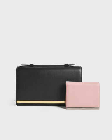 The Essential Slim Cardholder (Dusty pink)