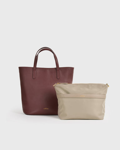 The Essential Tent Clutch (Burgundy)