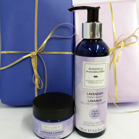Lavender Collection Hand Treat Duo