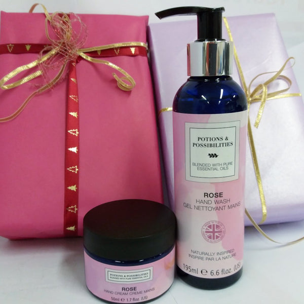 Rose Collection Hand Treat Duo