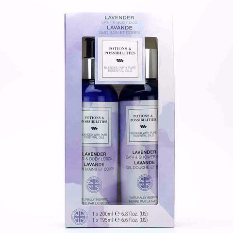 Lavender Collection Bath & Body Duo