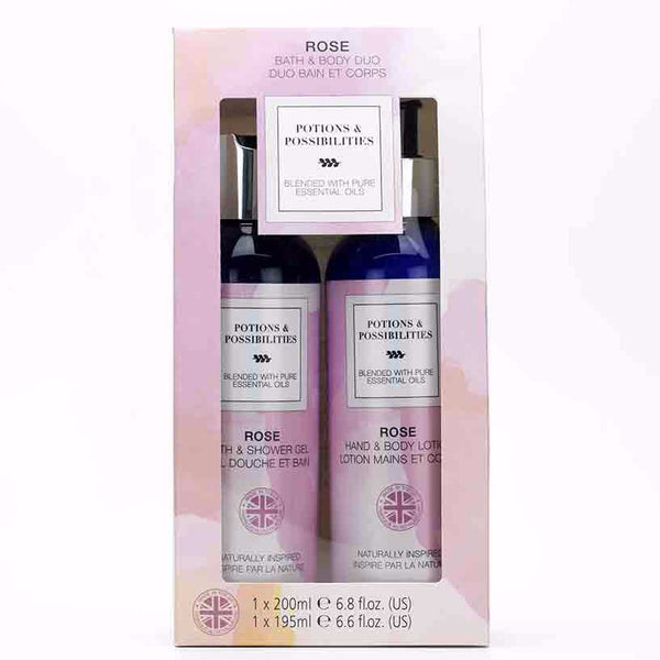 Rose Collection Bath & Body Duo