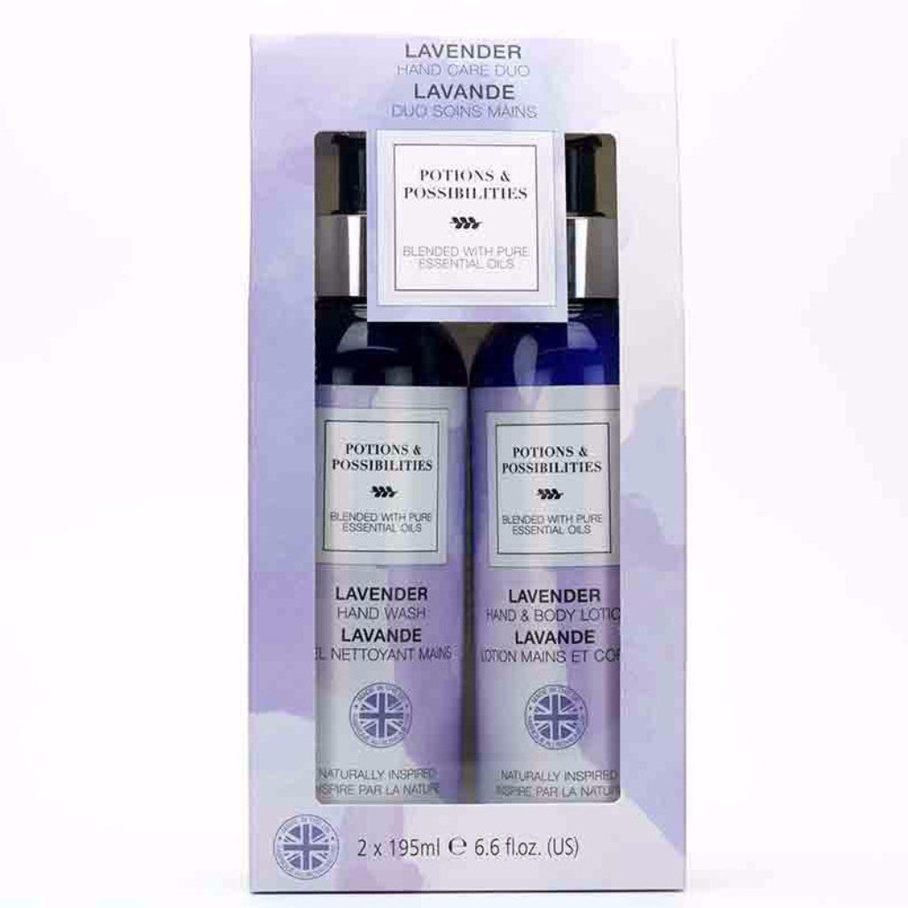 Lavender Collection Hand Care Duo