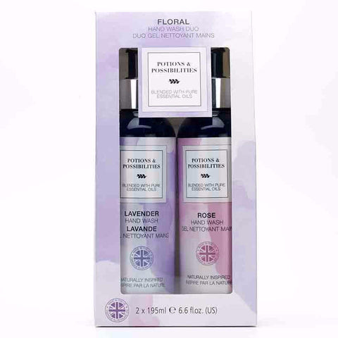 Floral Hand Wash Duo