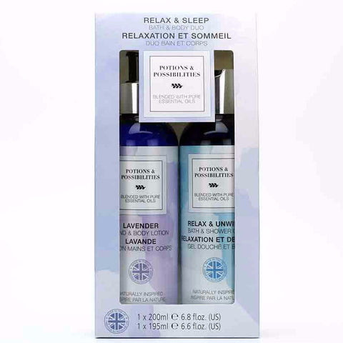 Relax & Sleep Bath & Body Duo