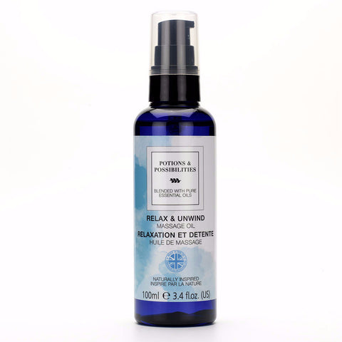 Relax & Unwind Massage Oil