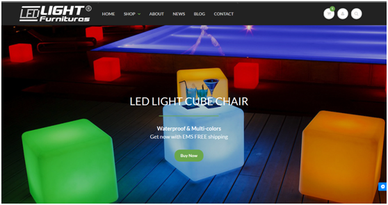 What's the led  Light Furnitures?