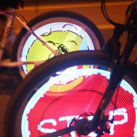 LED Bicycle Wheel light For bike night party