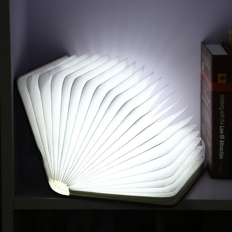 Table Reading Novelty 3d Lamp Desk Decorative Folding Home Led Night Light Book BWeQordCx