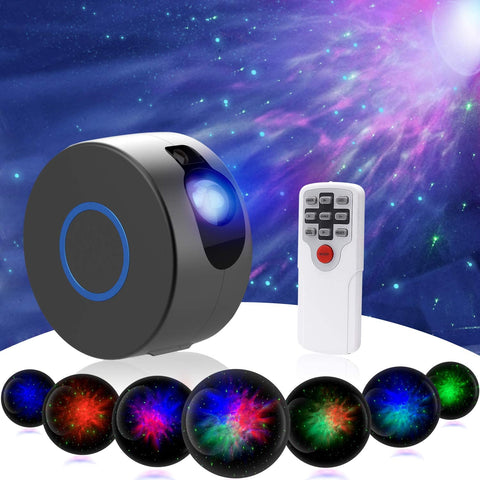 Star Night Light Projector Sky Galaxy Projector LED Nebula Cloud Light with Remote Control