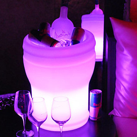 Color Changeable illuminate LED Ice Bucket