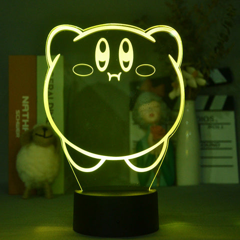 3d Bluetooth Control The Seven Deadly Sins Hawk Projection Lamp nightlight for Table Decor LED Light Personalized Wall Light