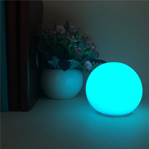 Glowing Ball Luminous PVC LED Decorative for Outdoor Swimming Pool Outside Belly Dance Balls RGB Glow Performance Accessories