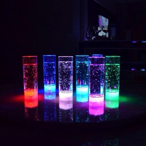 300-450ml Glow Light Up Highball wine led Glass