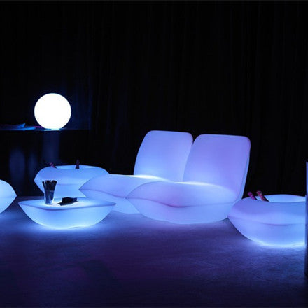 H81cm Colorful LED Furniture Vondom STONE SOFA Light
