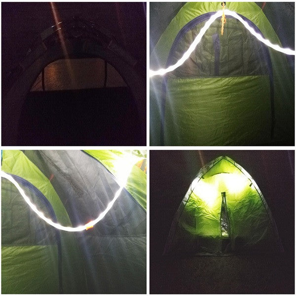 Led rope light for camping outdoor hiking trip night tent safety led rope light for camping outdoor hiking trip aloadofball Image collections