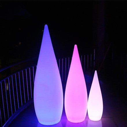 Outdoor goutte teardrop led foor light multi
