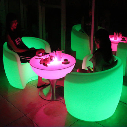 armchair lounge sofa led chair green