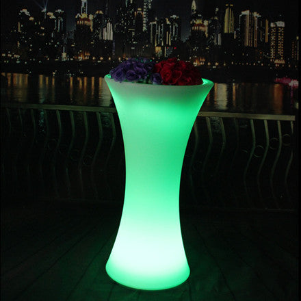 canton tower colorful led flower pot
