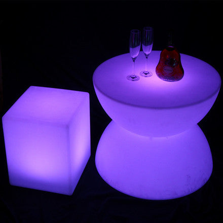 Best Illuminated Party LED Coffee Table For Sale Light Furniture