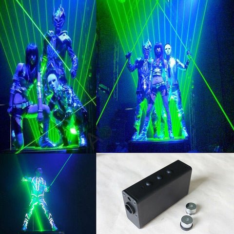 Dual Direction Green Laser Sword DJ Dancing Stage Show Light