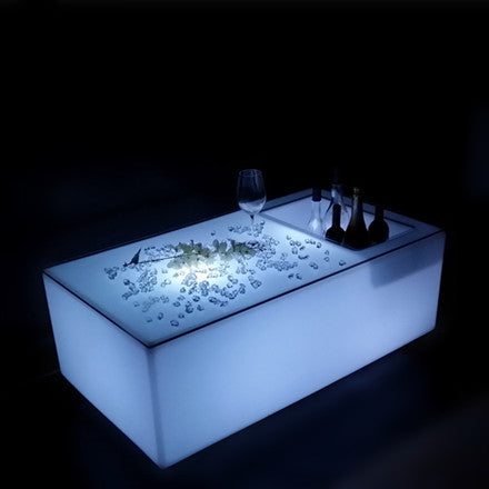 ... Led Low Bar Table With Wine Cooler2 ...