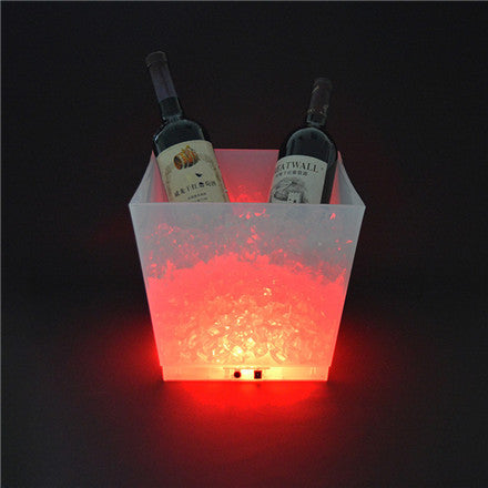 LED Ice Bucket is perfect for Bar, Club, KTV, Restaurant, hotel, home, other public place of amusement for decoration or interspersion.