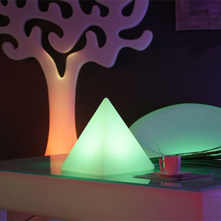 Egypt Pyramid Remote Control LED Table Lamps