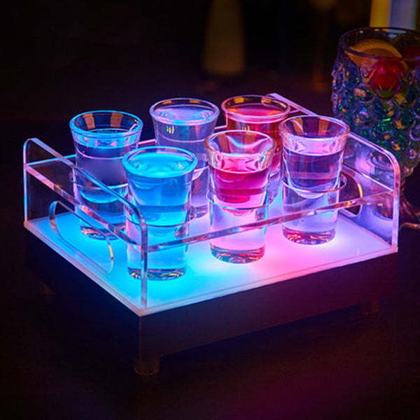 Led Creative Shot Glass Rack Holder Lu Qing Wen