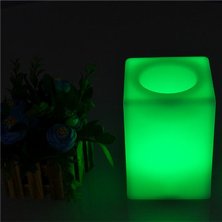 Outdoor Light Up Cube Table Furniture